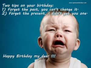 funny Happy birthday quotes, jokes on birthdays, birthday ecards ...