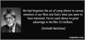 More Amitabh Bachchan Quotes