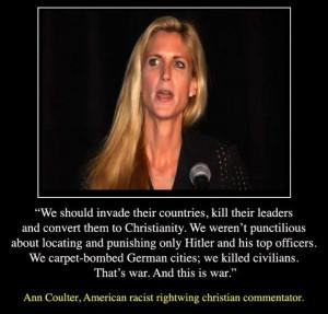 Today's Quotes: Ann Coulter, Scott Stratten, Dietrich Bonhoeffer