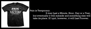 ... its Place. If I quit, however, it will Last Forever. - Lance Armstrong