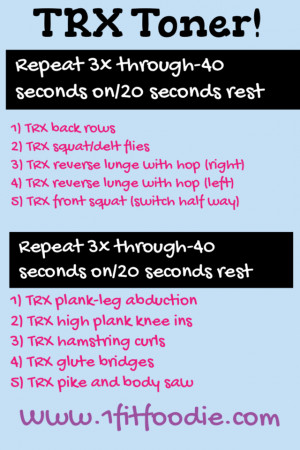 AND for an added bonus…here is a great treadmill workout for you to ...