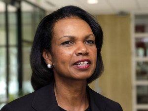 Condoleezza Rice was President George W. Bush's secretary of State ...