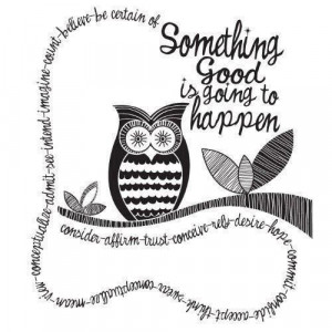 owl #hipster #quote #positive
