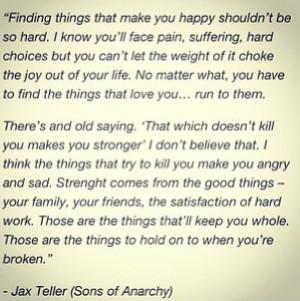 Jax teller quote