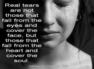 Sometimes Tears Speak Our Grief