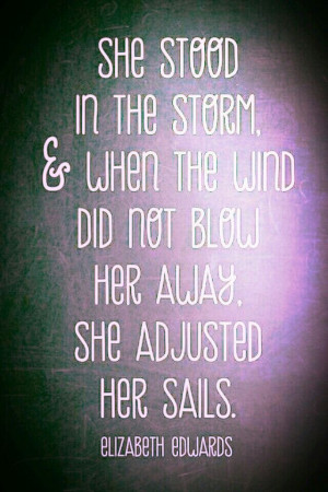 Standing in the Storm-