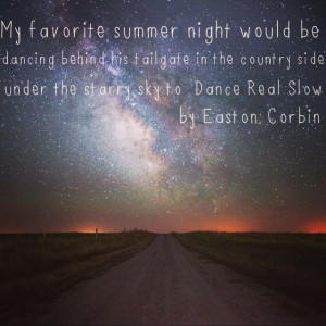 Favorite summer country night