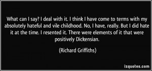 More Richard Griffiths Quotes