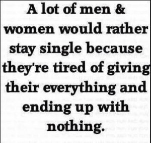 Being single quotes, meaningful, sayings, men