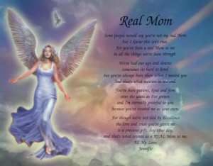 ... PERSONALIZED POEM FOR STEP-MOM OR ADOPTIVE BIRTHDAY OR CHRISTMAS GIFT