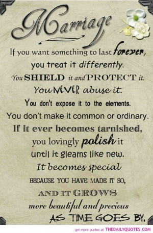 make marriage last forever family quotes sayings pictures