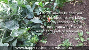 Christian retirement prayers