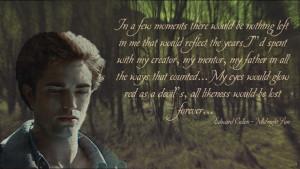 Twilight Series Midnight Sun quotes 4 -woods- (n7of9)