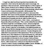 Julius caesar brutus mistakes essay