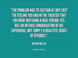Quotes About Arthur Miller Mccarthyism