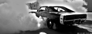 Muscle Car Burnout FB Cover Photo