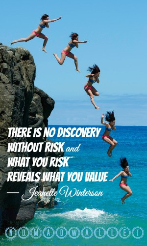 Jeanette Winterson Quote: There is no discovery without risk and what ...