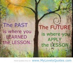 First learned then apply – future lesson plan