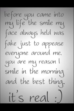 Real smiles...