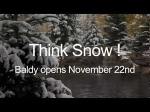 First snowfall of 2012-2013 season