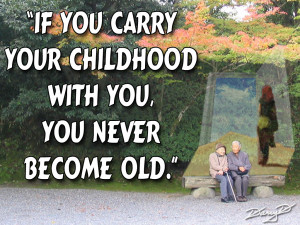 Childhood Friendship Quotes Older ~ childhood quote