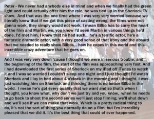 quotes the hobbit martin freeman peter jackson mg 1 Press Conference ...