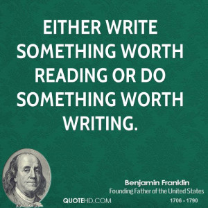 Related Pictures quote benjamin franklin the use of money is all the ...