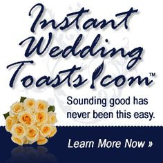 ... Funny Wedding Toasts, Best Man Speeches, Maid of Honor Sister Speeches