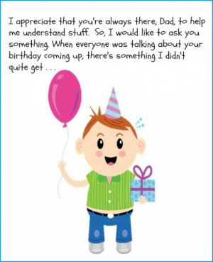 Birthday Quotes Funny For Dads Funny dad birthday card