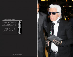 "From the desk of ""Best News Ever"" comes word that Karl Lagerfeld ..."