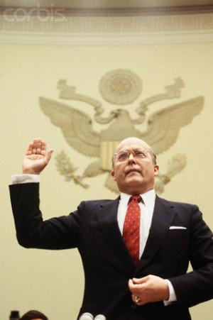 Admiral John Poindexter Iran Contra Hearings
