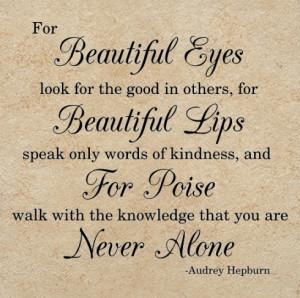 audrey hepburn beautiful eyes quote audrey hepburn beautiful eyes ...