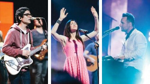 Chris Quilala, Kim Walker-Smith and Martin Smith