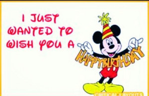 Happy Birthday #Mickey