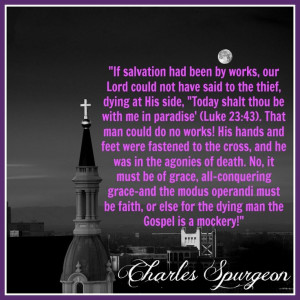 Charles Spurgeon quote (1891) from Sermon 2210
