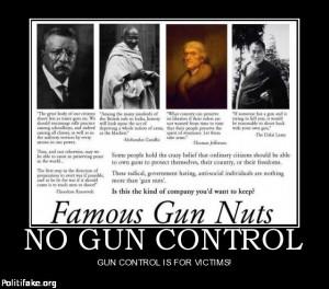 FAMOUS ANTI GUN CONTROL QUOTES