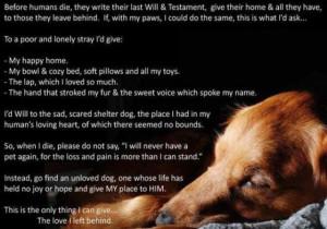 Dogs Goodbye Poem |