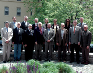 Pictured are UCAR Board of Trustees members at their spring 2010 ...