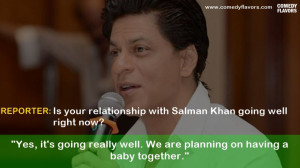 ... Quotes From Shahrukh Khan That Proves He Has The Best Sense Of Humor