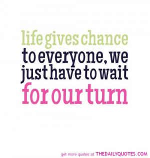 Chance Quotes and Sayings