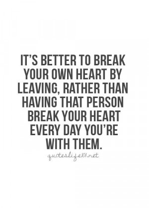 These 29 #Break #Up #Quotes Can Help You Get Through the Hard Times