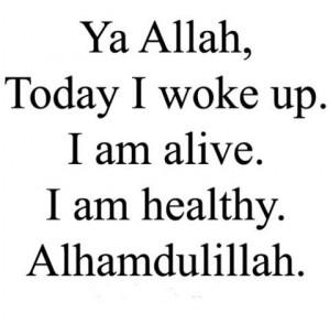 Alhamdulillah, thank you Allah
