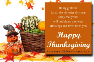 Thanksgiving Messages 02
