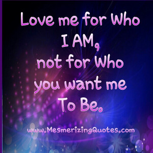 ... you love me because you need me or do you need me because you love me