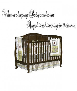 Details about Baby Angel Vinyl Wall Art Stickers Quotes Letters