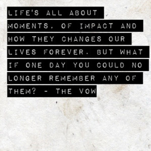 vinyl the vow quotes moments of impact