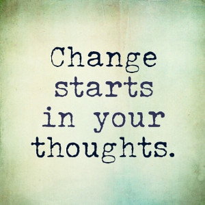 Transformation Tuesday starts with your Thoughts