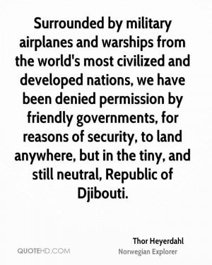 Thor Heyerdahl Quotes