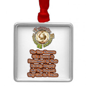 Respect Quotes Christmas Ornaments