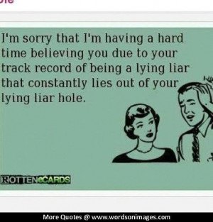 Quotes about liars
